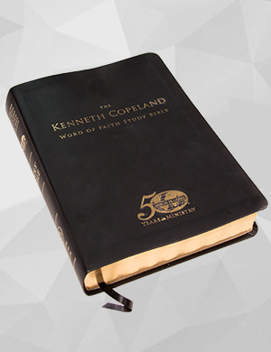 The Kenneth Copeland Word of Faith Study Bible - Leather Edition