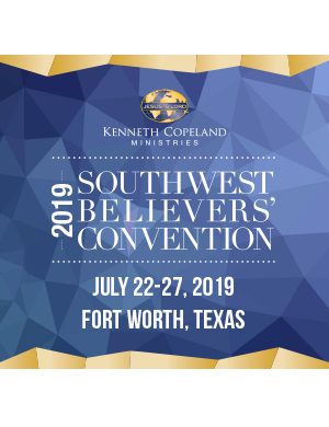 2019  Southwest Believers' Convention MP4USB